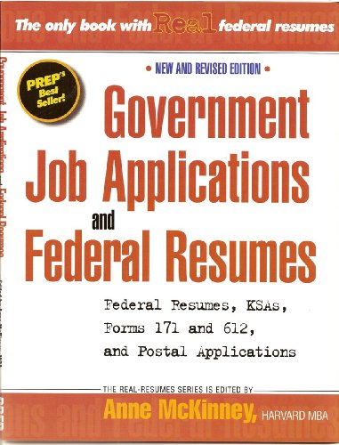 Government Job Applications & Federal Resumes