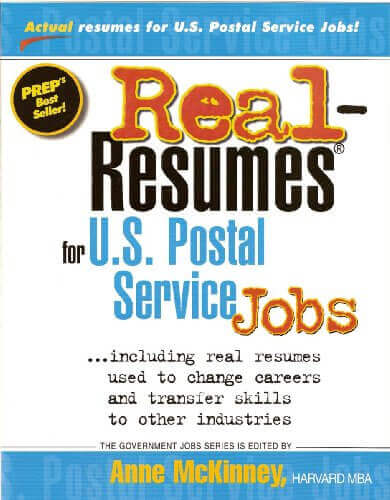 Real-Resumes for U.S. Postal Service Jobs